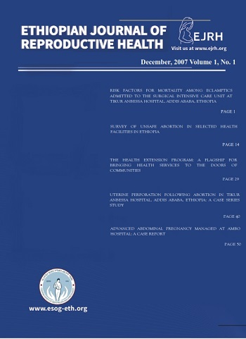 Ethiopian Journal of Reproductive Health